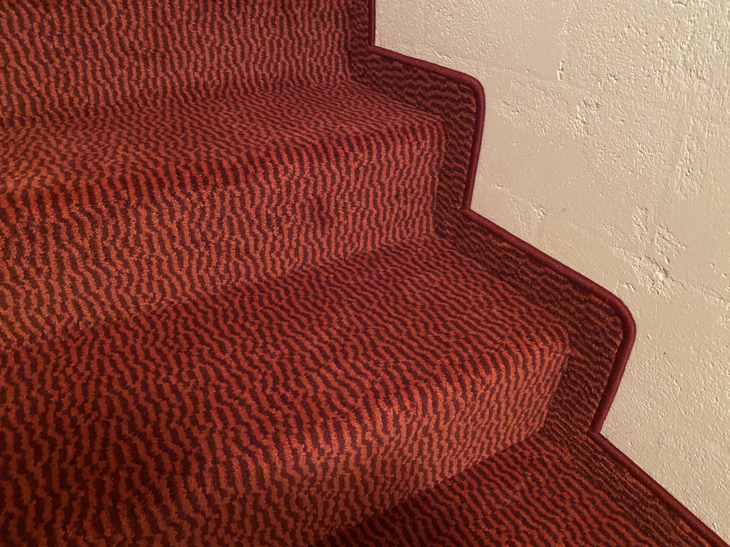 Barmetboden | Teppich auf Treppe