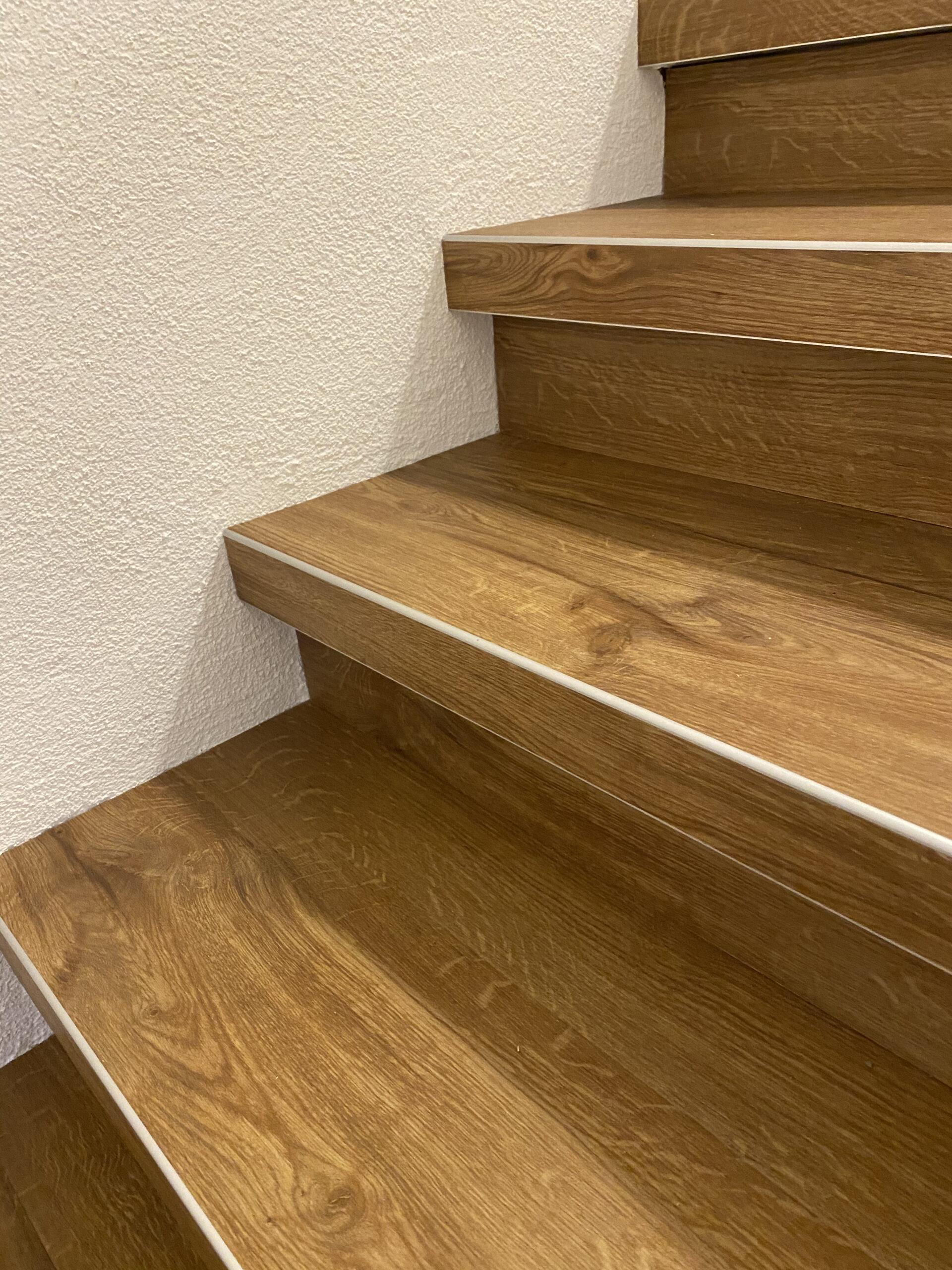 Treppenkante aus Aluminium | Barmetboden